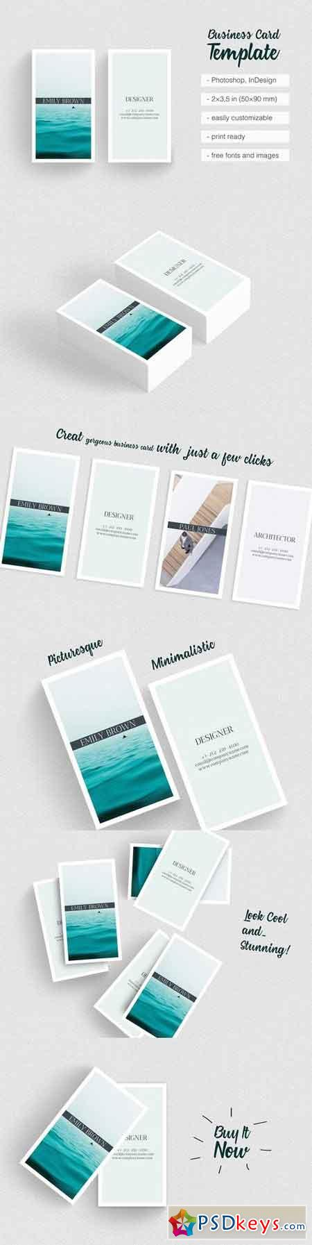 Clean Photographer Business Card 1466970