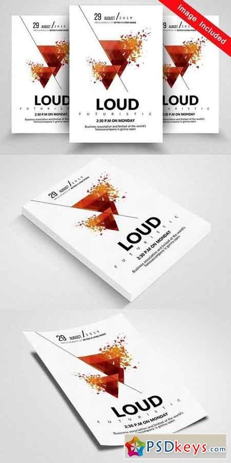 Loud Party Flyer Templates 1824033