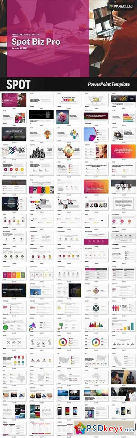 Spot PowerPoint Template 1845007