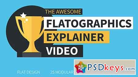 Flatographics Explainer Video 20526685 - After Effects Projects