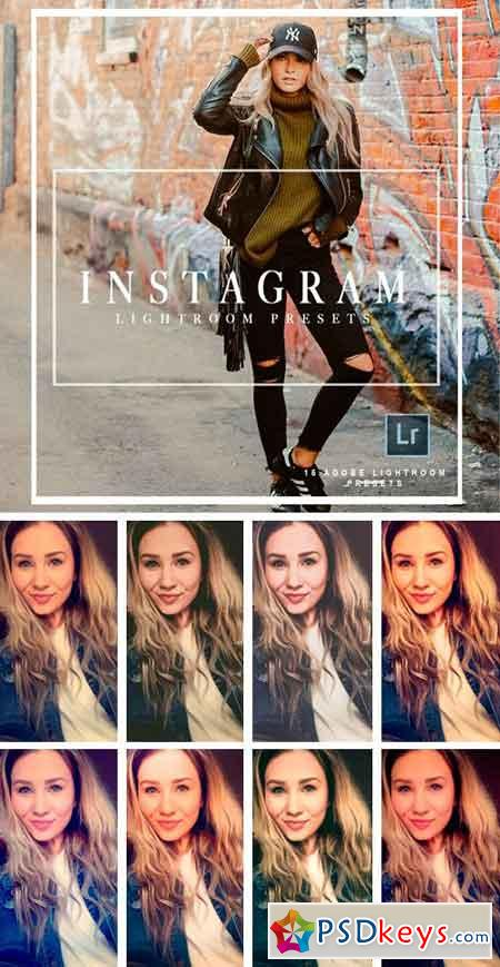 Instagram Lightroom Preset Bundle 2100927