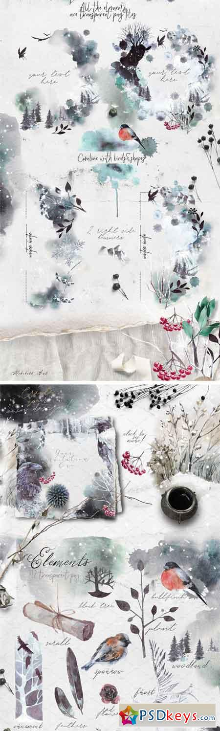 Vol2 Winter Fall Stationery 2097204