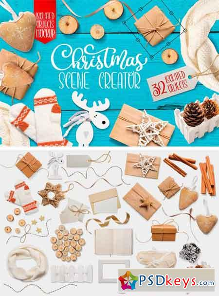 Christmas Scenes, Isolated Items 2130871