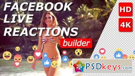 Facebook Live Reactions Builder 21046656 - After Effects Projects