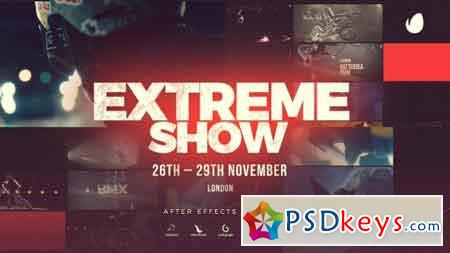 Extreme Show Sport Event Promo 20706485 - After Effects Projects