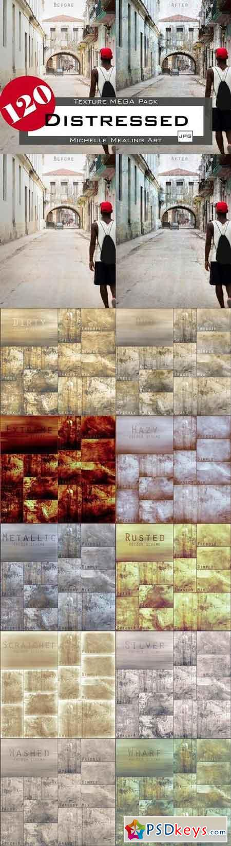 Distressed 120 Texture MEGA Pack 2058604
