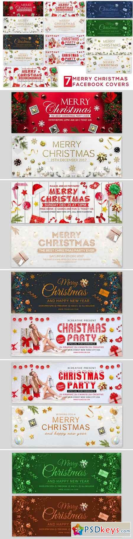 Merry Christmas Facebook Covers 2137790