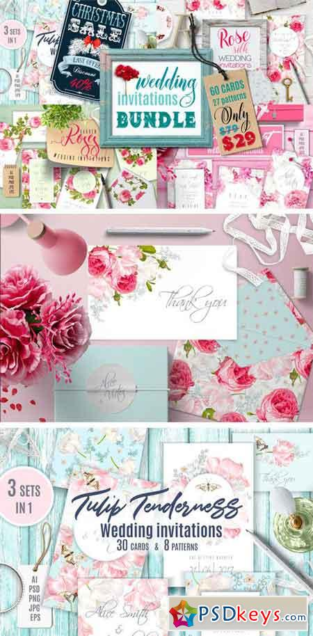 Wedding Invitations BUNDLE 2111148