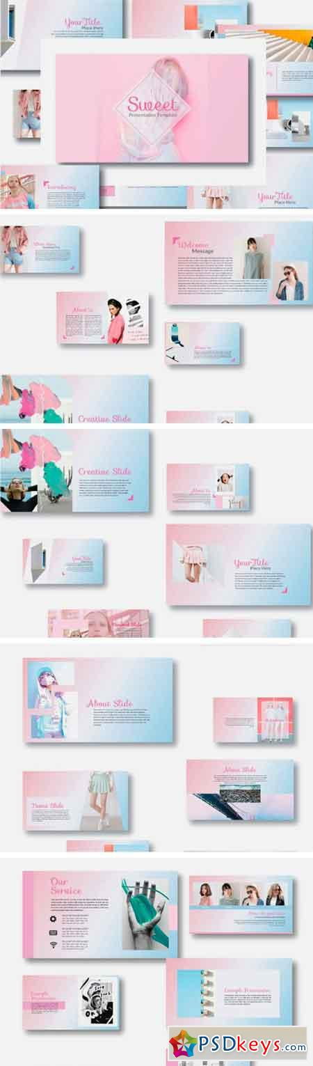 Sweet Powerpoint Template 2066342