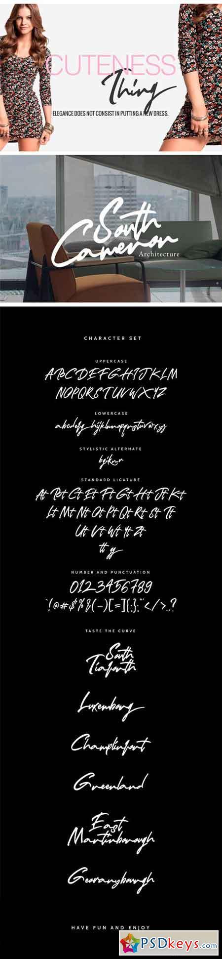 Winifred - Signature Font 2100899