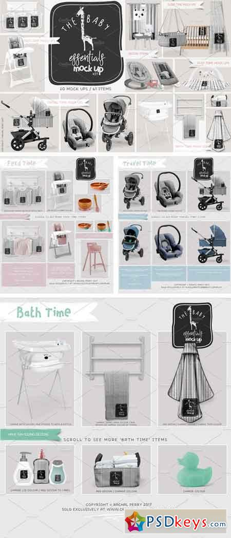The Baby Essentials Mock Up Kit 2067345