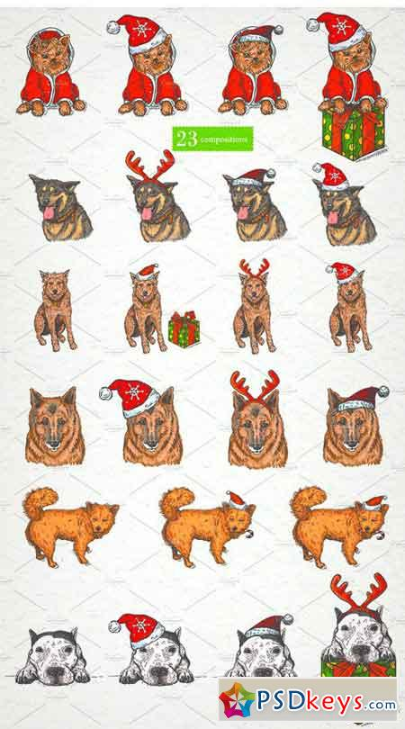 Vector Collection Year Of The Dog 2109928