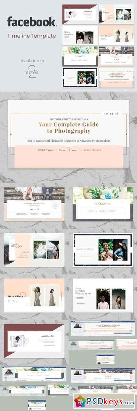 Facebook Cover Template 2018554
