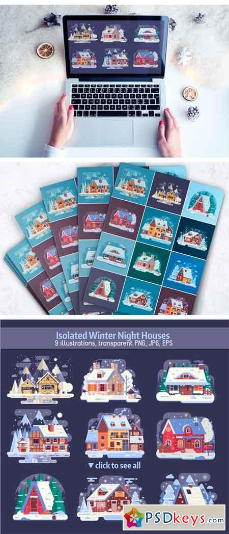 Winter Cozy House Collection 2099158