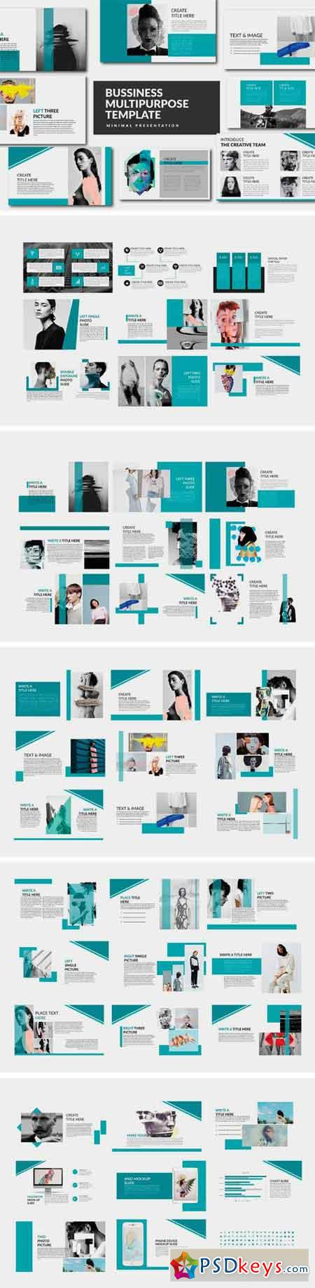 Bussiness Powerpoint Template 2066375
