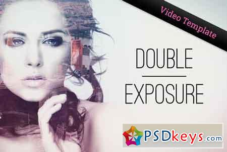Double Exposure Parallax Titles AE 2100428