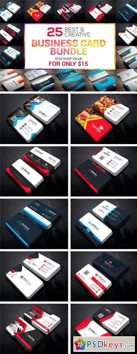 25 Business Card Bundle 2115789