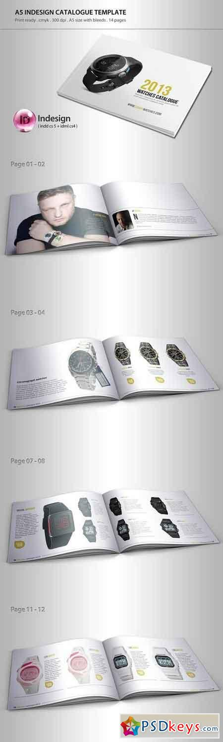 Product catalogue template 10554