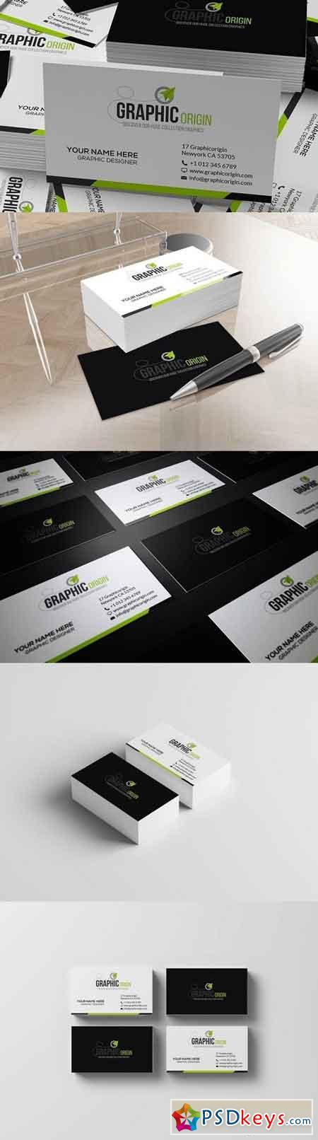 Corporate Business card 1479016