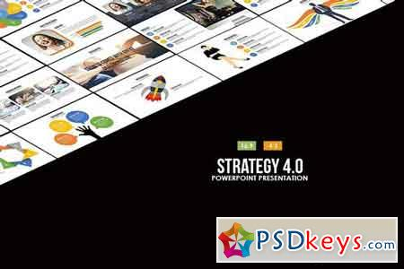 Strategy 4.0 Powerpoint Template 2063549