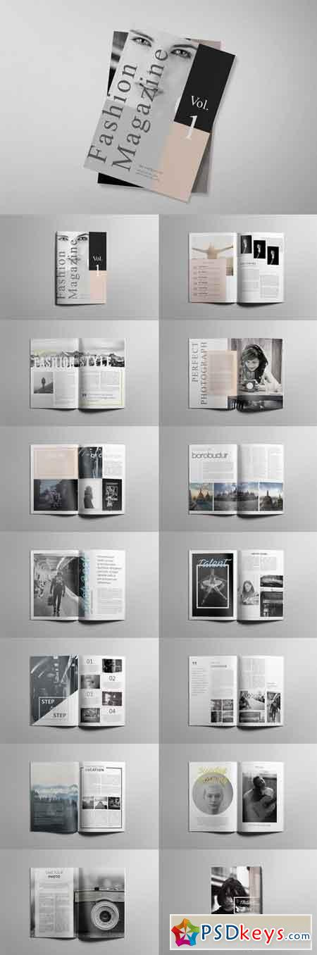 Simple Magazine Template 1856805