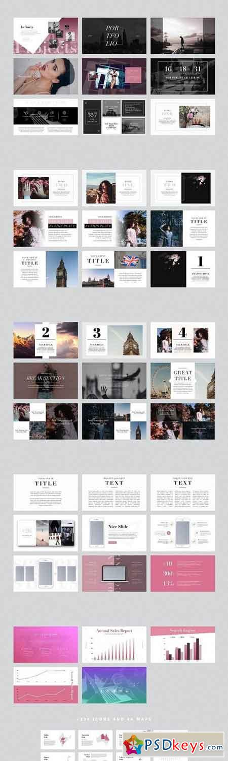 LONDON PowerPoint Template + Gift 1876877