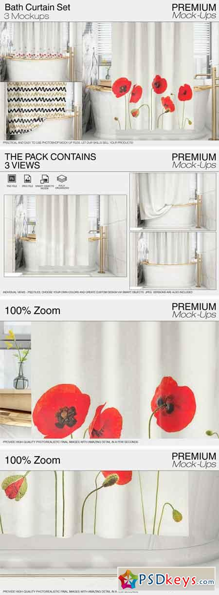 Bath Curtain 2131750