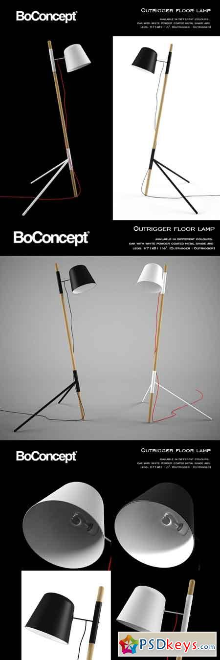 Boconcept Outrigger Floor Lamp 1901652