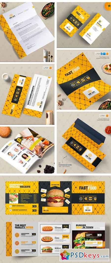 Branding Identity for Fast Food 2123409
