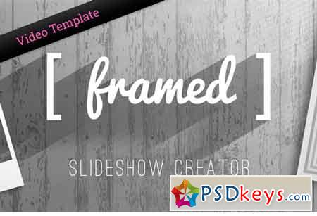 Framed - Slideshow Creator - AE 2100853