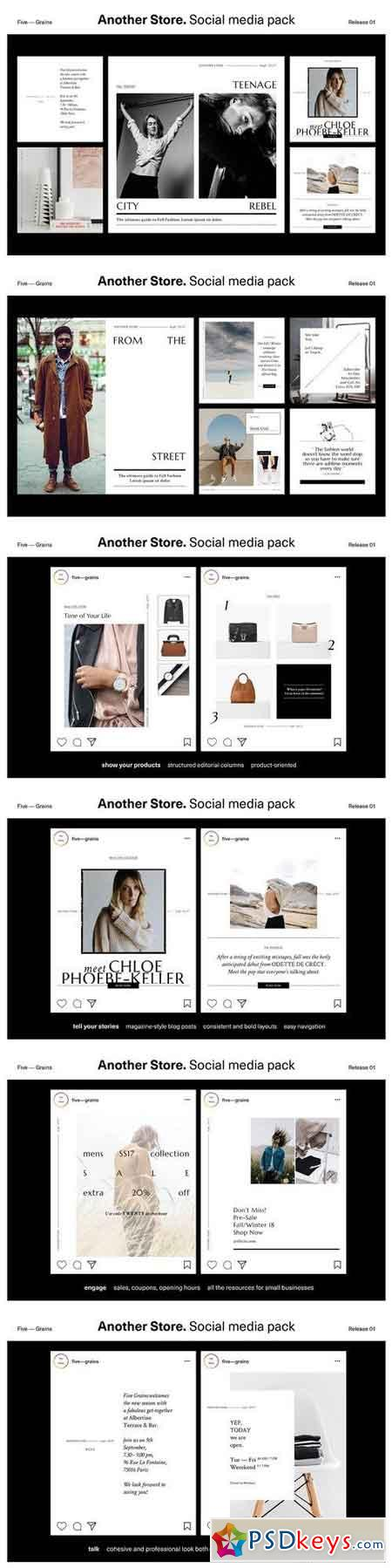 Another Store Social media pack 1863041