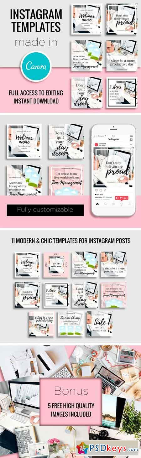 Instagram Templates Made In Canva 2165230