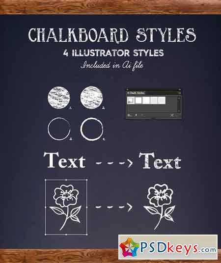 Chalkboard Lettering Project Kit 1898148
