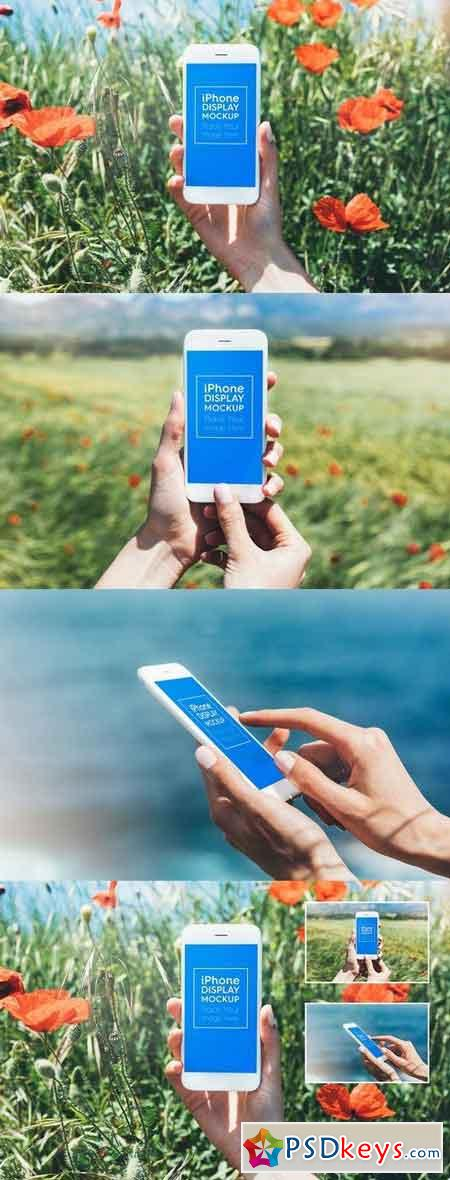 Phone Smartphone Outdoor Mockups 1900282