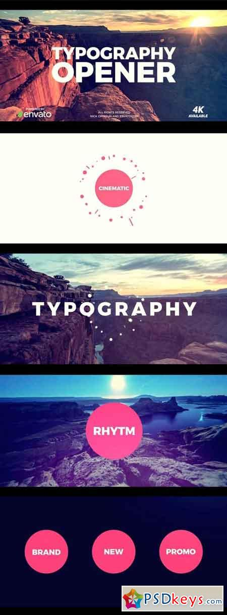 Typo Opener Pack 12108167 - After Effects Projects