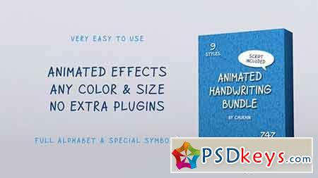 Animated Handwriting Bundle 21054513 - After Effects Projects