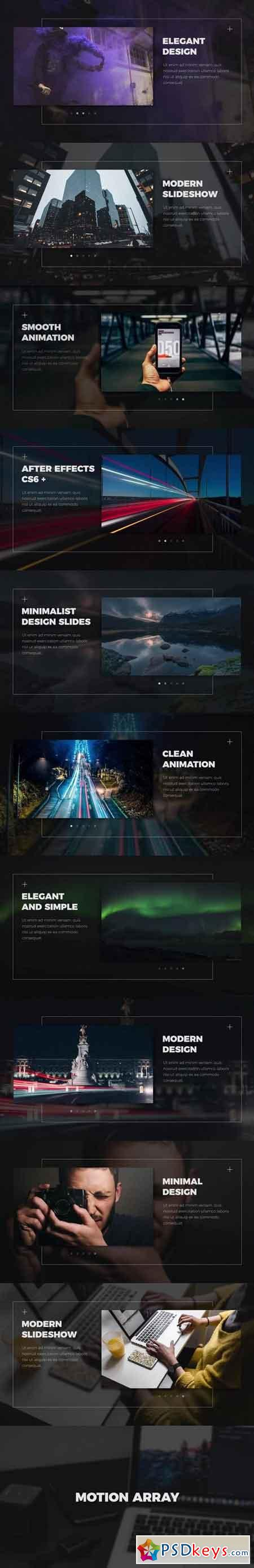 Modern Slideshow Premiere Pro Templates 57401 - After Effects Projects