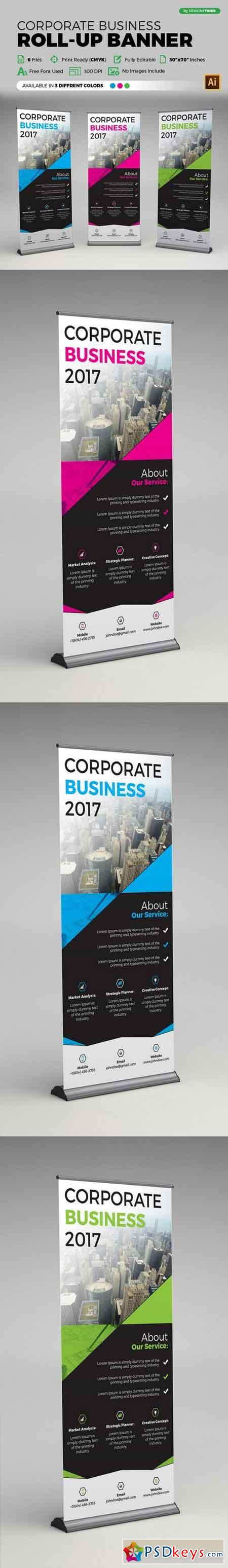 Corporate Roll Up Banner 1466038