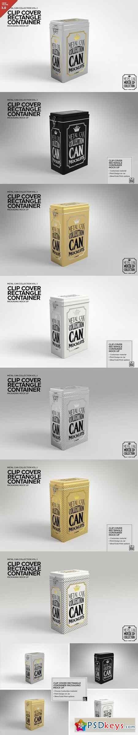 ClipCover Rectangle Container MockUp 1929519