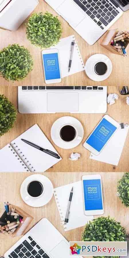 Phone Smartphone Workspace Mockups 1900104