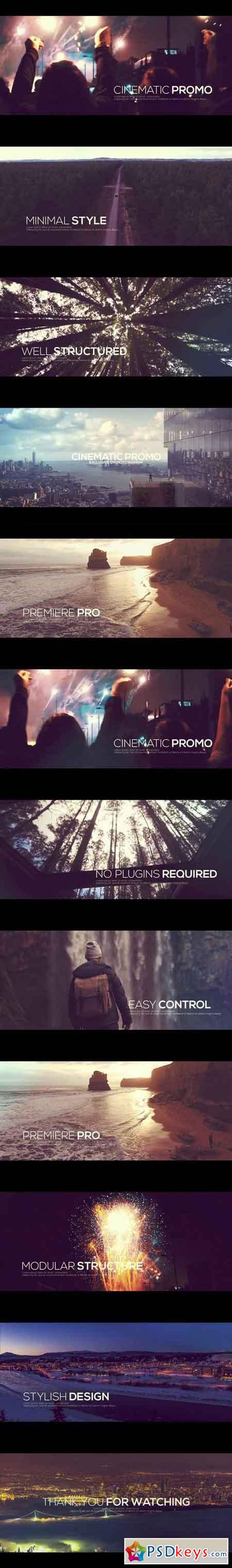 Cinematic Promo Premiere Pro Templates 57497 - After Effects Projects