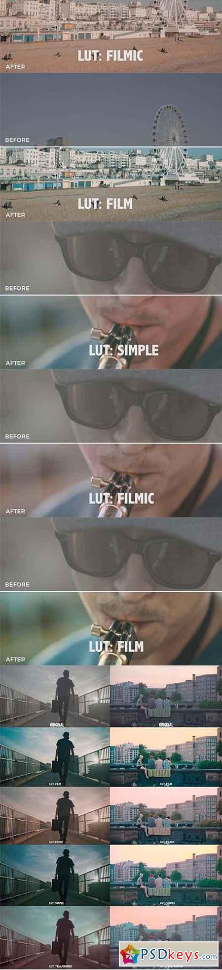 Peter Dibussolo LUTs Bundle - After Effects Projects