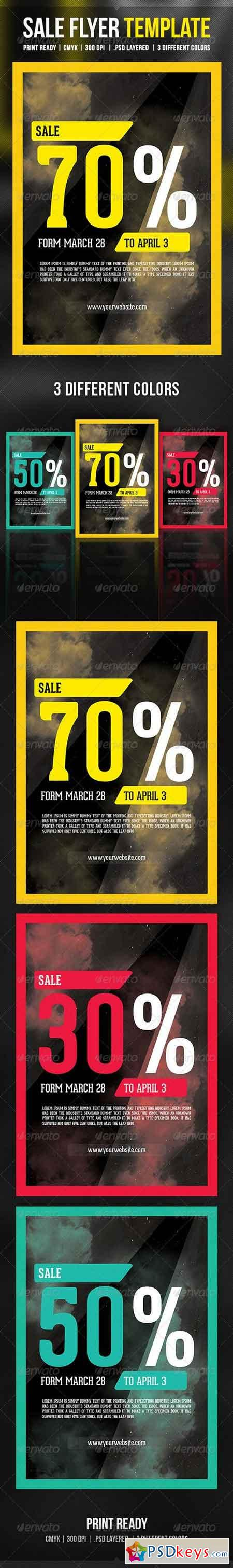 Sale Flyer Template 6906898