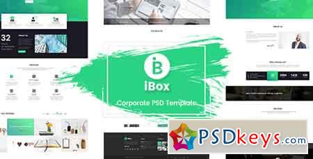 Ibox - Corporate Business PSD Template 21074601
