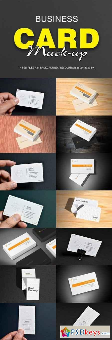 Business Card Mockups 1965875