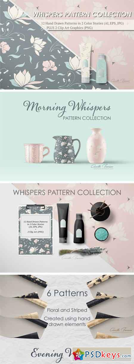 Whispers Pattern Collection 2131911