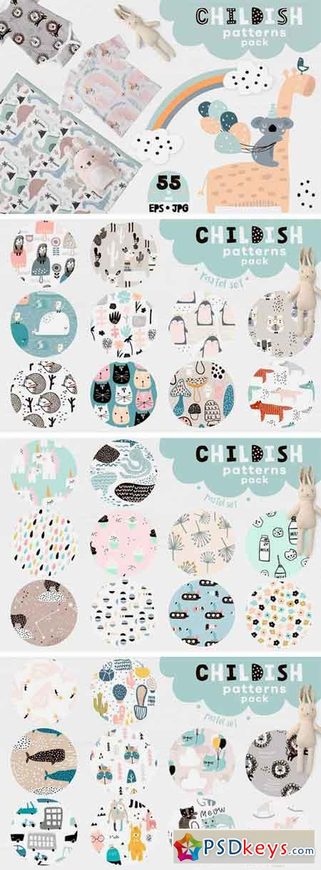 Childish Patterns Pack Vol. 3 2131193