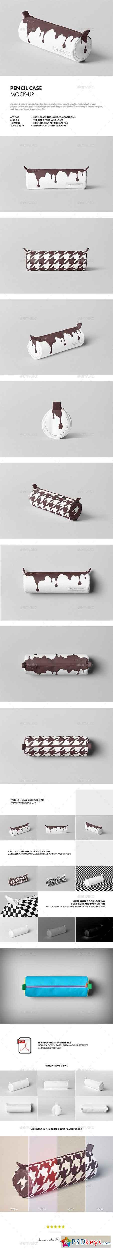 Pencil Case Mock-up 21217029