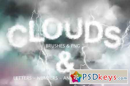 Clouds Graphics & PS Brushes 1775584