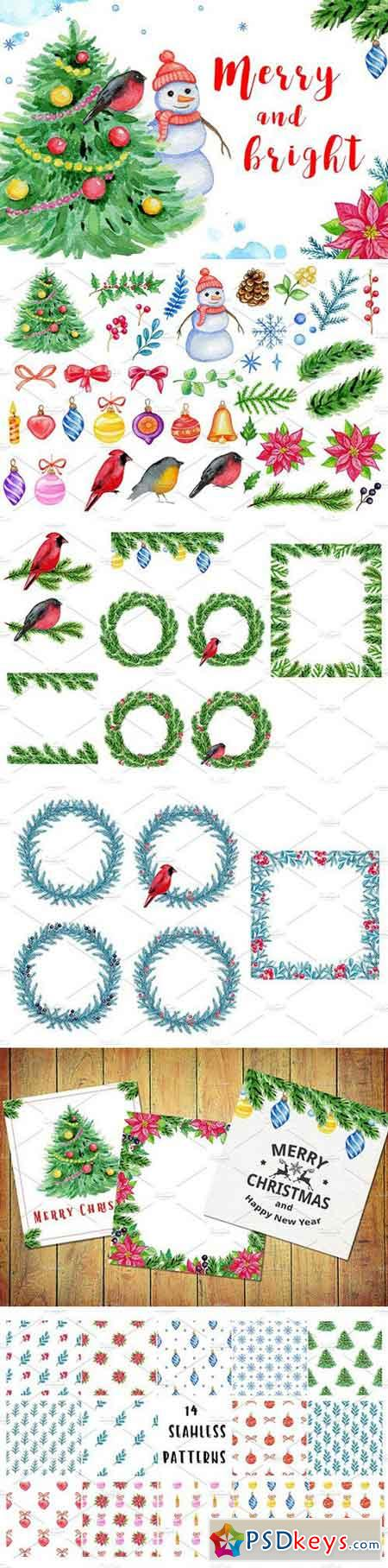 Merry and bright design kit 2103144